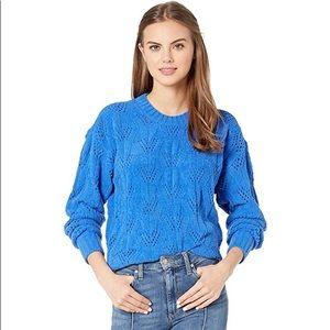 BCBGMAXAZRIA Crew Neck Pullover Sweater